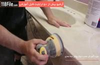 دیوار پوش سه بعدی - طرح های سه بعدی روی سنگ دست شور