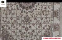 فرش ماشینی 1200 شانه کاشان - طرح گلشن کرم - فرش کالین