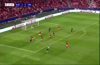 خلاصه بازی بنفیکا - لایپزیگ (کامل)؛ لیگ قهرمانان اروپا