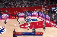 خلاصه بازی یونان - آمریکا؛ جام جهانی بسکتبال چین 2019