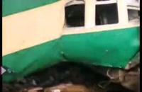 70 کشته در برخورد دو قطار در پاکستان