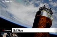 تصاویر ماهواره ای از طوفان سهمگین مایکل