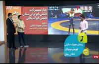 پاسخ کوبنده کشتیگیر ایرانی به بیاحترامی کشتیگیر آمریکایی