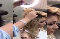 آموزش شینیون   دوره تخصصی شینیون و آرایش مو  آموزشگاه و سالن زیبایی آوای زیباسازان