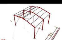 معرفی کامل اسکلت پیچ و مهرهای ساختمان و انواع اتصالات در سازه های فولادی