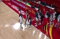 فول گیم بازی یونان - آمریکا؛ جام جهانی بسکتبال چین 2019