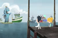 انیمیشن سریالی ابری با احتمال بارش کوفته قلقلی ف1ق 9