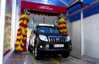 شستشوی خودرو با دستگاه کارواش اتوماتیک دروازه ای