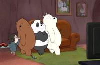 انیمیشن سریالی سه خرس کله پوک(ف2-ق11)-دوبله-We Bare Bears TV Series