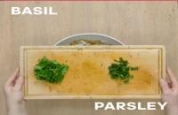 طرز تهیه سالاد برنج مدیترانه ای