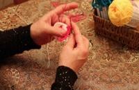 آموزش بافتنی ( موتیف بافی قسمت ۴ ) توسط خانم منیژه غفاری
