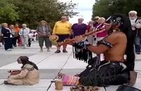 موسیقی بیکلام از سرخپوستان قاره آمریکا/بسیار زیبا و تماشایی