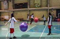تمرین تیم ملی بسکتبال سه نفره بانوان