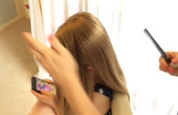 آموزش شینیون - آموزش آرایش مو - شینیون دخترانه - زیبایی سنتر