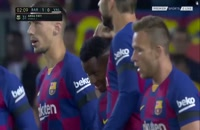 خلاصه بازی بارسلونا - والنسیا (انگلیسی)؛ لالیگا اسپانیا