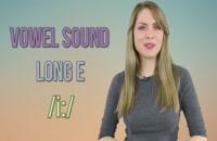 ویدیو تلفظ صحیح 250 لغت با صدای کشیده ( / : i /) E  در زبان انگلیسی  را یادبگیرید .