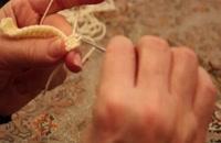 آموزش بافتنی و قلاب بافی (نیم پایه) توسط خانم منیژه غفاری