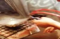 آبکاری(فانتاکروم) روی،قطعه سفالی۰۲۱۵۶۶۴۶۲۹۷