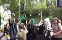 خوشآمدگویی متفاوت عراقی ها به زوار ایرانی در اربعین