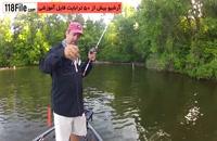 ماهیگیری در رودخانه های خروشان