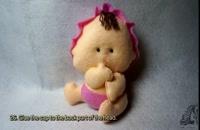 آموزش ساخت عروسک کودک نمدی