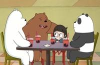 انیمیشن سریالی سه خرس کله پوک(ف1-ق12)-دوبله-We Bare Bears TV Series