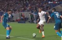 فول مچ بازی لیون - زنیت (نیمه دوم)؛ لیگ قهرمانان اروپا
