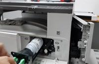 آموزش تعویض دولوپر و نصب دستگاه کپی ریکو MP 2014D