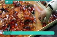 ساخت میز با رزین و سنگ های کهکشانی