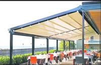حقانی 09380039391-سقف چادری رستوران- سقف سانروفی رستوران سنتی