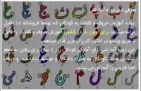 آموزش حروف الفبا با نقاشی