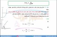 جلسه 38 فیزیک دوازدهم-حرکت با شتاب ثابت 6 بررسی مثال 12 فصل- مدرس محمد پوررضا