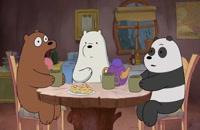 انیمیشن سریالی سه خرس کله پوک(ف1-ق9)-دوبله-We Bare Bears TV Series