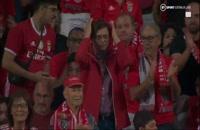 خلاصه بازی بنفیکا - لایپزیگ (کوتاه)؛ لیگ قهرمانان اروپا