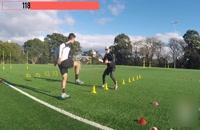 9 تکنیک حرفه ای در فوتبال