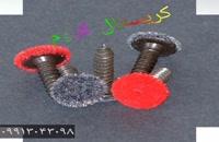مخمل کردن فلزات بادستگاه مخمل پاش/09128053607