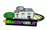 ایلیا کروم تولید کننده اصلی دستگاه مخمل پاش مخزن دار پنوماتیکی02156573155