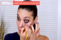 آموزش خودآرایی-آرایش چشم سایه و خط چشم