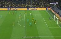 خلاصه بازی دورتموند - بارسلونا (کامل عربی)؛ لیگ قهرمانان اروپا