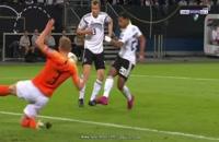 خلاصه بازی آلمان - هلند؛ (عربی) پلی آف یورو 2020