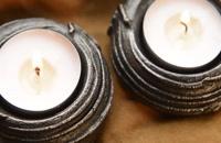 آهنگری و ساختن جا شمعی از میلگرد