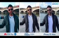 مقایسه دوربین های  p30 , s10 , x msx