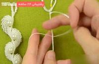 آموزش مکرومه بافی دستبند بصورت گام به گام