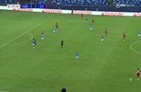 خلاصه بازی ناپولی - لیورپول (کوتاه)؛ لیگ قهرمانان اروپا