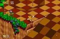 تریلر بازی Sonic 3d blast