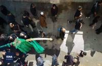 مراسم علمکشان در روستای تاریخی انجدان