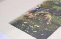 چاپ مستقیم روی بوم طبیعی و مصنوعی