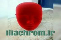 ایلیاکروم تولید کننده دستگاه مخمل پاش صنعتی 09127692842