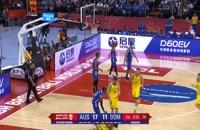 فول گیم بازی استرالیا - جمهوری دومینیکن؛ جام جهانی بسکتبال چین 2019