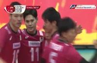 خلاصه والیبال ژاپن ۳-۱ ایران